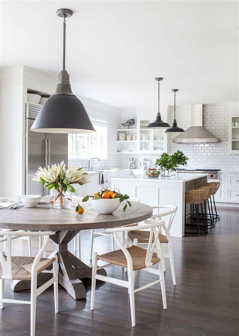 dining table in the kitchen westport modern farmhouse kitchens farmhouse kitchen