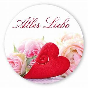 Valentinstag Geschenke Auf Rechnung : geschenk aufkleber alles liebe mit herz rund aufkleber shop ~ Themetempest.com Abrechnung