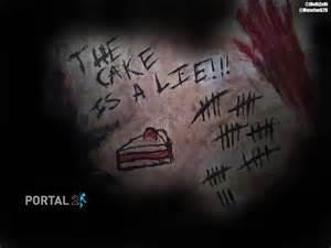 Cake Lie Portal 2