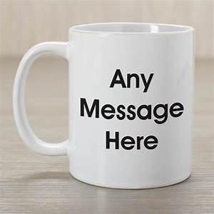 Personalized, Message, Coffee, Mug