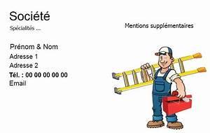 Carte De Visite Multiservice Exemple Gratuit Personnaliser