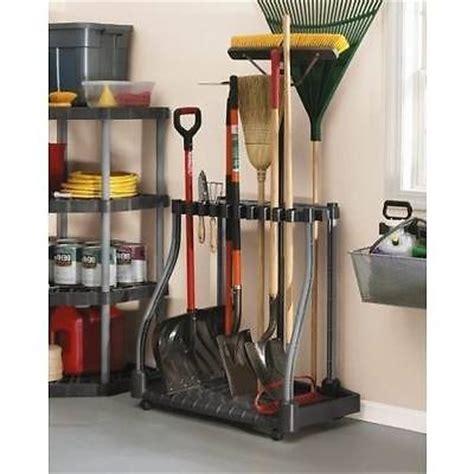 Rubbermaid Shed Tool Hangers by Garden Tool Rack Garage Storage Portable Organizer Rakes