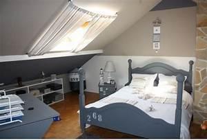 Chambre de garcon gris bleu idee rideau velux rideau for Amenagement chambre ado avec boutique de matelas