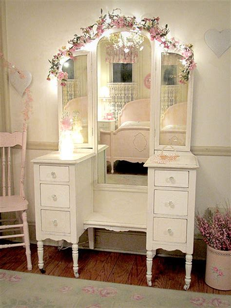 shabby chic vanity pictures   images