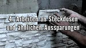 Verblendsteine Innen Gips : klimex verarbeitung der verblendsteine lange version youtube ~ Michelbontemps.com Haus und Dekorationen