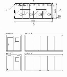 20 Fuß Container In Meter : sanit rcontainer von schmidt container toilettencontainer duschcontainer sanit ranlagen wc ~ Frokenaadalensverden.com Haus und Dekorationen