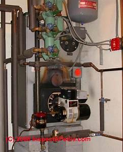 Heating Boiler  Leaking Central Heating Boiler
