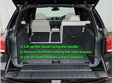 BMW X5 Car Battery Location Car Batteries