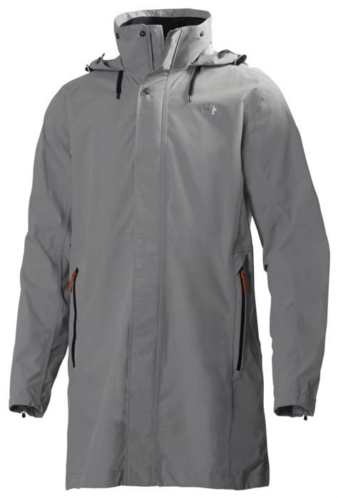coat rain lightweight raincoat packable jacket suit business rainwear helly