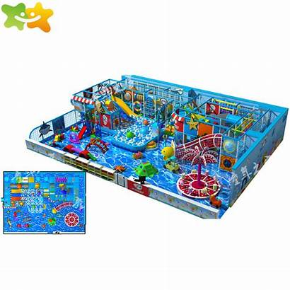 Indoor Playground Adventure Amusement Play Factory