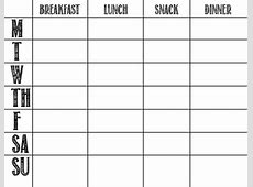 Weekly Meal Planner Template Whole 30 listmachineprocom