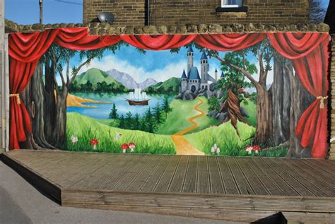 stage painting sar wall decors