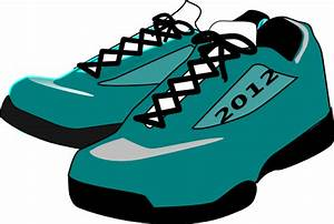 Cartoon Sneakers Clipart - Clipart Suggest