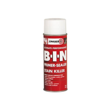 zinsser bin primer sealer spray ml