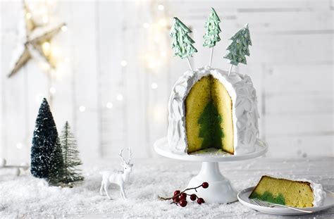 christmas tree cake tesco real food