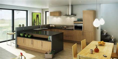 modele cuisine hygena cuisine hygena modèle shaker chêne des cuisines au
