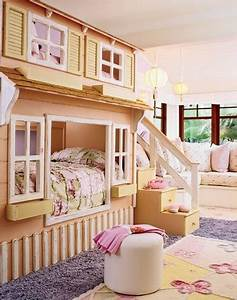 25 fun and cute kids room decorating ideas digsdigs for Images of cute kids bedrooms