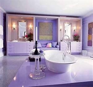 35, Best, Purple, Bathroom, Ideas