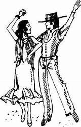 Flamenco Dancers Dancer Coloring Sketch Dance Sketchite Template Mexican Tango Drawing Webp Transparent sketch template