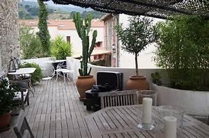Comment Aménager Une Terrasse Extérieure : terrasse amenagement exterieur creation de jardin paysager ~ Melissatoandfro.com Idées de Décoration
