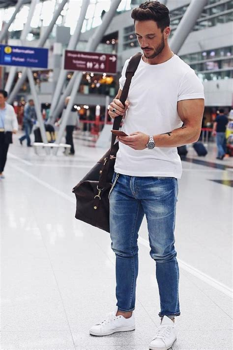 7 Coolest Airport Looks For Guys | # Menu0026#39;s Fashion Blog - PS | Pinterest | Airport outfits Men ...