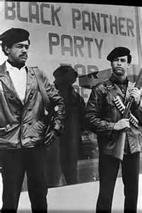 Black Panthers Bobby Seale Huey Newton