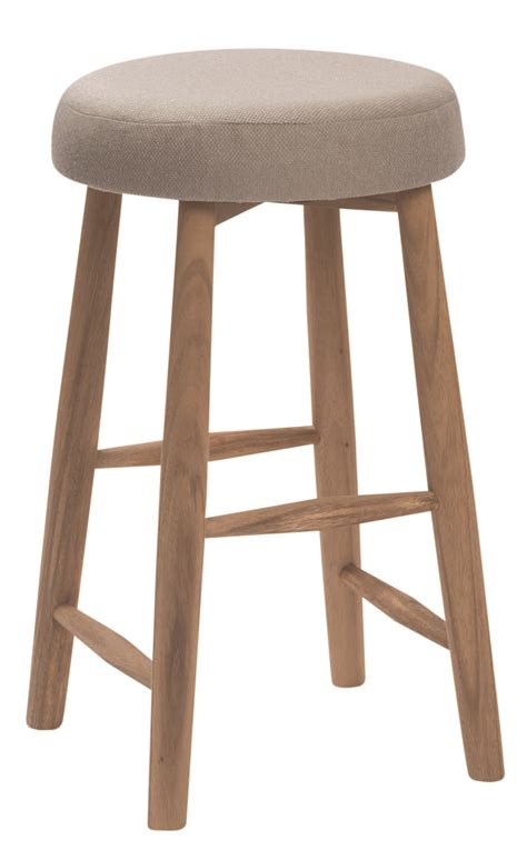 Upholstered Kitchen Stools by Hops Upholstered Kitchen Stool Pr Home