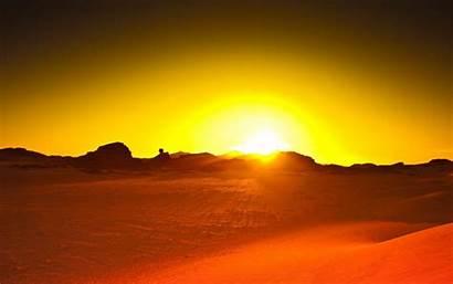 Desert Sunset Backgrounds Sahara Wallpapers Background Cave