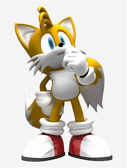 Tails Miles Prower 3d Thinker Nicepng
