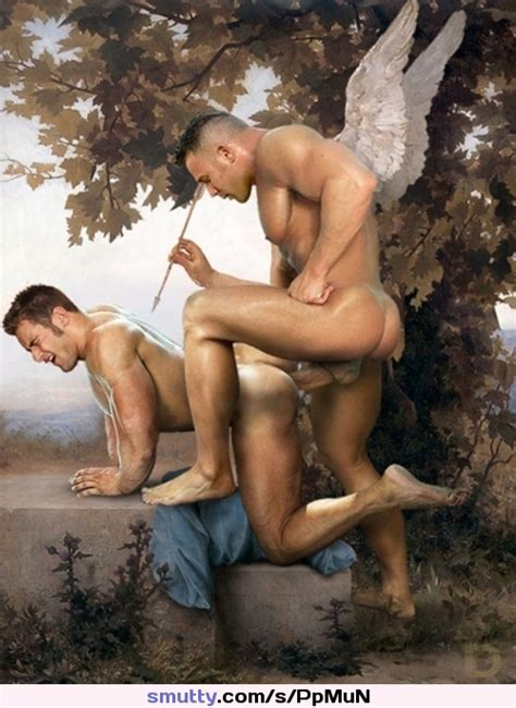 Gay Anal Angel Fantasy Art Hugecock Muscular Man Hardcore Gaysex Doggy Queer Male