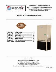 Marvair Avp 24 Product Manual