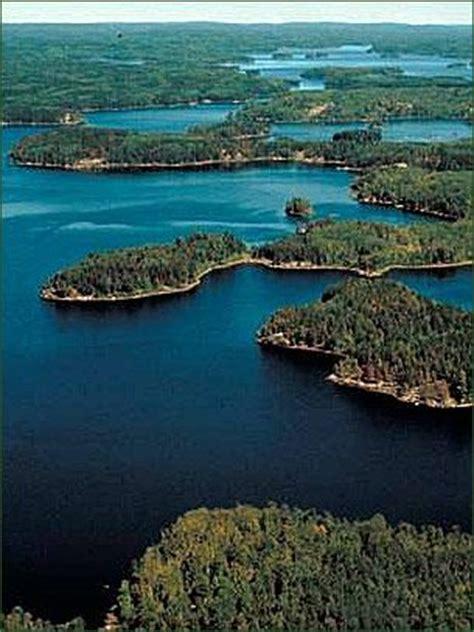 boundary waters canoe area wilderness minnesotacanada