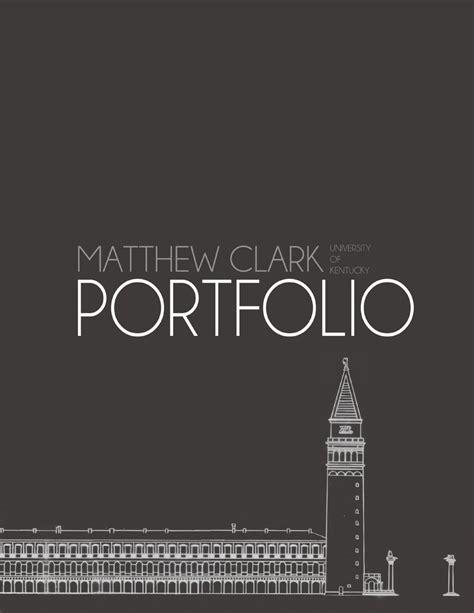 13243 landscape architecture portfolio cover matthew clark landscape architecture portfolio by matthew