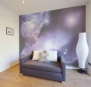 Papier Peint Espace : papier peint mur avec vue de l 39 espace pixers ~ Preciouscoupons.com Idées de Décoration