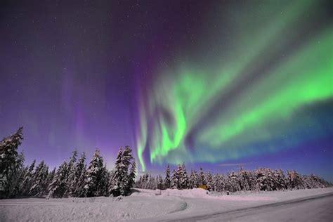 polarlichter  finnland laatzen myheimatde