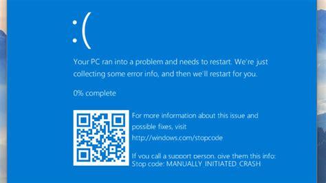 windows  muestra codigos qr en sus pantallazos azules