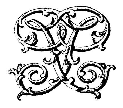 clip art  fancy letter  illustrations royalty