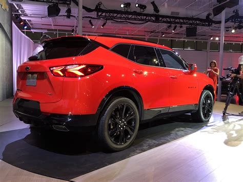 This Is The Allnew 2019 Chevy Blazer  Gm Authority