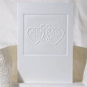 17 best images about embossed wedding cards on pinterest With celtic embossed wedding invitations