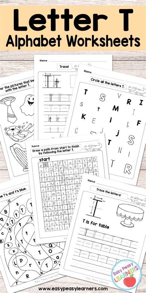 free printable letter t worksheets alphabet worksheets