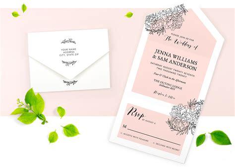Wedding Invitations Custom Wedding Invites & Stationery
