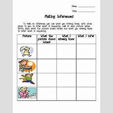 Inference Worksheet By Teach 04 Life  Teachers Pay Teachers