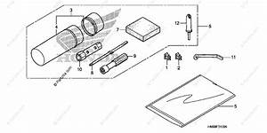 Honda Atv 2007 Oem Parts Diagram For Tools