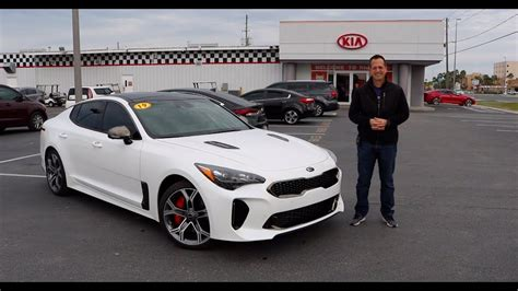 2019 Kia Stinger Gt2 by Is The 2019 Kia Stinger Gt2 A Performance Sedan Bargain