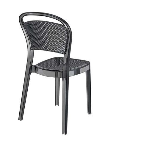 chaise en polycarbonate chaise moderne en polycarbonate bee 4 pieds tables