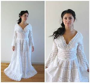 vintage lace mexican wedding dress With vintage mexican wedding dress