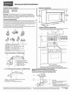 Download Free Pdf For Maytag Mmv5208ws Microwave Manual
