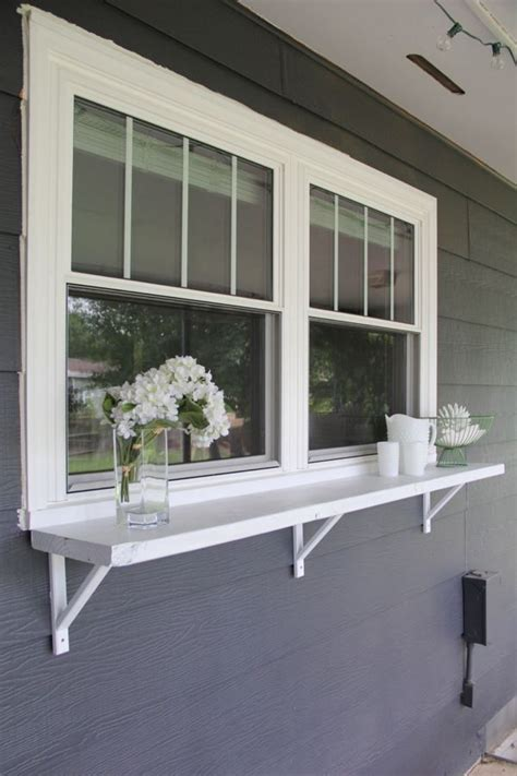 Upvc Window Ledge by Build A Window Serving Buffet Best Diy Ideas