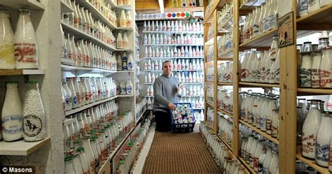 Largest Collection Of Milk Bottles Paul Luke Sets World