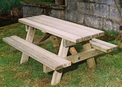 picnic table bench wooden small picnic table child s s duncombe sawmill